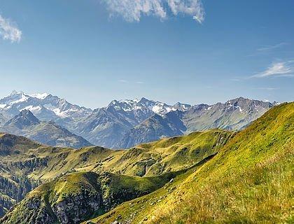 Alpines Bergpanorama