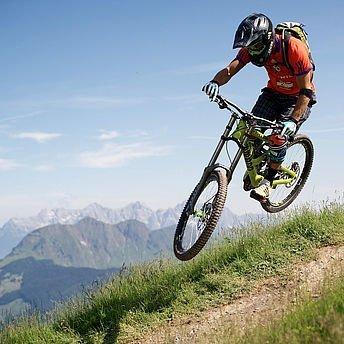 Downhill fahren
